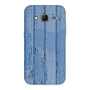 Special Blue Wood Wall Print Back Case Cover for Galaxy Core Prime