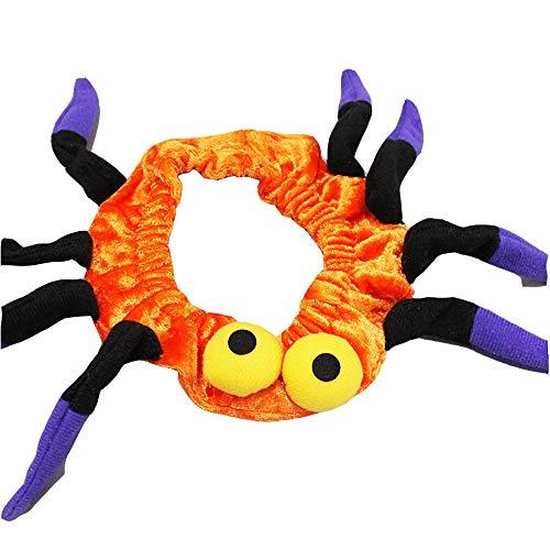 Spider Hunde Für Große Kostüm - RONGXIN Pet Halloween-Kostüm Katze Halsband Schmuck Groß Medium Klein Katze Hund Urlaub Zubehör Spider Halsband