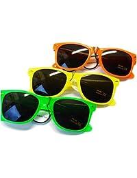 Nerd Clear® Sonnenbrille 3er Pack LEUCHTEN! B8-1, B4-2, BB9-2