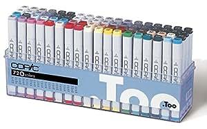 Copic Marker Lot de 72 Marqueurs de dessin Assortiment B