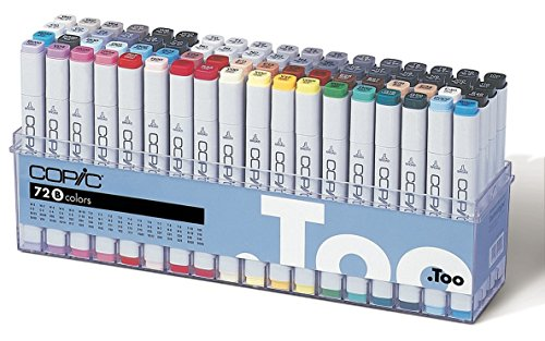 Copic Marker - Set B - 72er Set