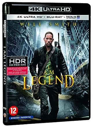 Je suis une légende [4K Ultra HD + Blu-ray + Copie Digitale UltraViolet]