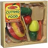Melissa & Doug 14021 Cutting Fruit Playset Bundle