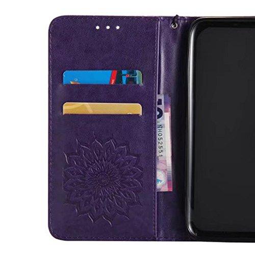 Cover per iPhone 5 Card Slots,Custodia per iPhone 5S ,Bonice Premium Multifunzionale Pelle Portafoglio Staccabile Detachable Removable Folio Zipper Protettivo Case Multiplo Extra Slot per Carte Conser Model 01