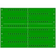 Pulseras Brazaletes de Identificación Vinilo, 50 Piezas, Verde