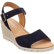 Volumen groß neue Season Preis Suchergebnis auf Amazon.de für: Gabor Sandaletten blau