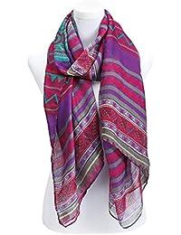 écharpe femme foulard imprimé - disponibles en plusieurs couleurs