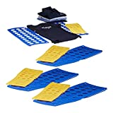 8x Faltbrett Wäsche, Wäschefalter, Hemdenfalter, Falthilfe, Faltsystem, klein, groß, platzsparend, A4, A5, blau, gelb
