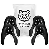 TYGA Store 2 Pairs Sneaker Protector, Universal Crease Protectors Shoe Crease Protector Prevent Toe Creases Against Shoe…