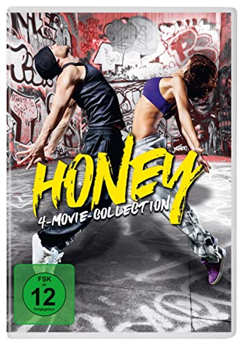 Honey 1-4 [4 DVDs]