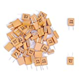 SODIAL(R) 50pcs 455KHz Resonador De Ceramico Con 2 Pines Ceramic