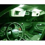 Innenraumbeleuchtung Set für dein Fahrzeug - SMD sehr hell - Lichtpaket erhältlich in Farben weiß blau rot grün gelb pink | grün