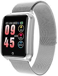 GOKOO Smartwatch IP67, Reloj Inteligente Hombre con 8 Modos Deporte, Reloj Deportivo, Pulsómetro