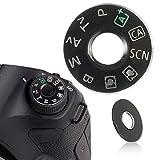 MYAMIA Dial Modo Placa Interfaz Tapa Botón Reparación Parte Cámara para Canon EOS 6D Reemplazar