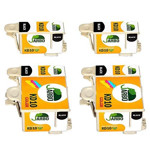 jarbo-compatible-kodak10xl-cartouches-dencre-4-noir2-colore-compatible-avec-kodak-easyshare-5100-530