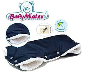BabyMatex TRIPPI -- Black Sheep -- Super Soft Muff / Moufle / Manchon pour poussette - Fleece
