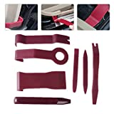 beler 7pcs Universal Auto T¨¹r Molding Trim Panel Clip Licht Audio Removal Pry Open Interior Tool Kit