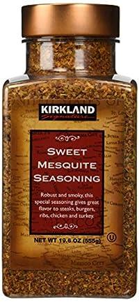 Single Pack : Kirkland Signature Sweet Mesquite Seasoning - 19.6 Oz