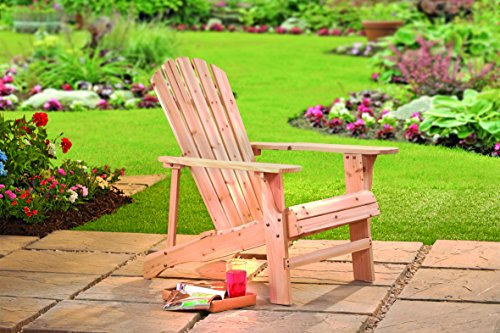 Thompson & Morgan Garden Patio Wooden Adirondack Furniture (2 Chairs)