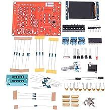 KKmoon Multifunzione LCD GM328 Transistor Tester diodo di capacità ESR Tensione Misuratore di frequenza PWM onda quadra Signal Generator (parti)