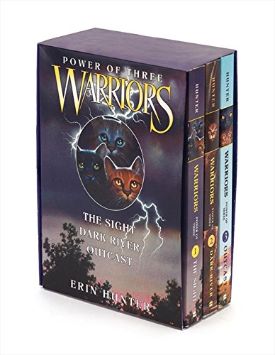 Warriors: Power of Three: The Sight / Dark River / Outcast: 1-3