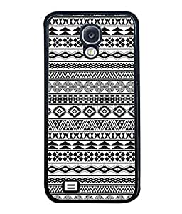 PrintVisa Designer Back Case Cover for Samsung Galaxy S4 I9500, Samsung I9500 Galaxy S4, Samsung I9505 Galaxy S4, Samsung Galaxy S4 Value Edition I9515 I9505G (Illustration Traditional Decoration American Decorative Ornamental Beautiful Geometric)
