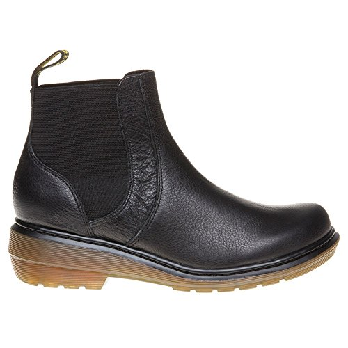 Dr.Martens Womens Pamela Broadway Leather Boots Noir