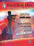 Pop & Rock Hits Instrumental Solos, Trumpet, Book&CD, Level 2-3 (Alfreds Instrumental Play-Along)