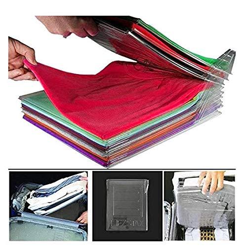 """Poetryer Closet Organizer and Shirt Folder, Kleidung Organizer für Schrank oder Schublade 34 * 29cm/13.38 * 11.41"""", 5-Pack"""