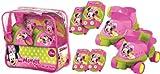 Minnie Mouse Rollschuhe mit Schutzausrüstung