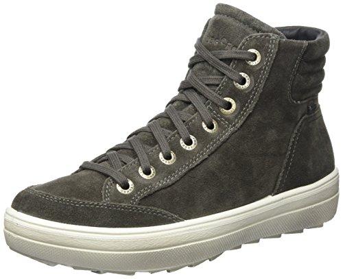 Legero Ladies Mira High Sneaker Grigio (pietra)