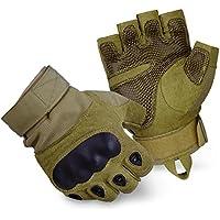 Blacksnake® Tactical Paintball Halbfinger Handschuhe mit Knöchelschutz und Belüftungssystem