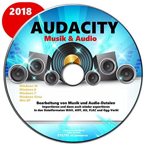 Audiorekorder/ Audioeditor Das professionelle Tonstudio 1.Aufnehmen 2.Bearbeiten 3.Abspielen aller Audiodateien: WAV, AIFF, FLAC, MP2, MP3, OGG Vorbis für ALLE Windows Kassetten und Schallplatten digitalisieren