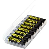 Powerex PRO High Capacity Rechargeable AA NiMH Batteries (1.2V