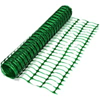 True Products B1001F 50 m Standard Plastic Mesh Barrier Safety Fence Netting Roll - Green - ukpricecomparsion.eu