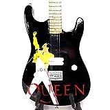 Mini Guitar Replica - Queen - Freddy Mercury Tribute