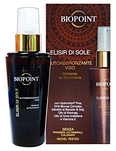 Biopoint elisir di sole autoabbronzante viso 50 ml
