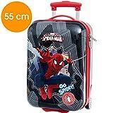 Valise de voyage - Bagage á main - Spiderman ABS rigide 20 x 34 x 55 cm - MARVEL -...