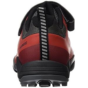 Shimano SHMT5OG420SR00, Zapatillas de Ciclismo de Carretera para Hombre, Rojo (Red), 42 EU