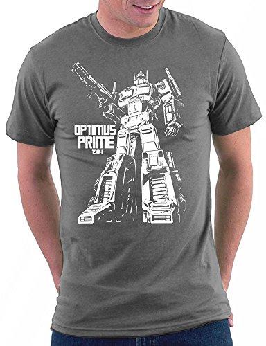 Transformer Optimus Prime T-shirt Darkgrey