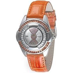 Zeno-Watch ladies watch - Lalique Lalique orange - 6602Q-s3-5