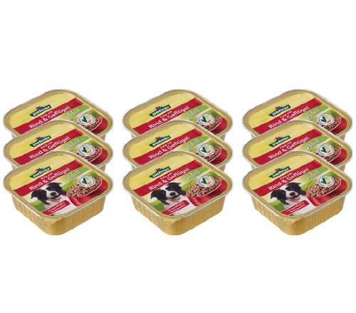 Dehner Hundefutter Adult Rind und Geflügel, 9 x 300 g (2.7 kg)