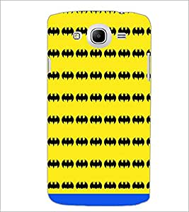 PrintDhaba Bat Pattern D-1463 Back Case Cover for SAMSUNG GALAXY MEGA 5.8 (Multi-Coloured)