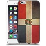 Head Case Designs República Dominicana Dominicano Conjunto De Banderas Vintage 3 Caso de Gel Suave para Apple iPhone 6 Plus / 6s Plus