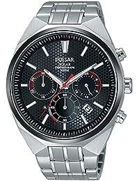 Pulsar Herren-Armbanduhr Solar Analog Edelstahl PZ5011X1