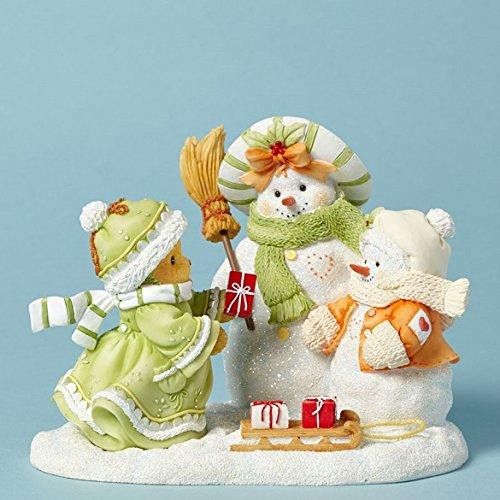 Cherished Teddies Aria Flurry Friends Forever Bear Snow Friends Figurine 4040469 -