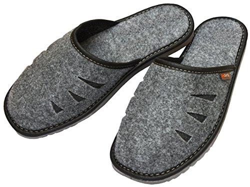 BeComfy, Pantofole uomo Grau