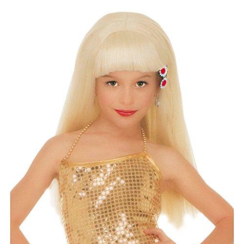 Blonde Kinderperücke Naomi Prinzessin Kinder Perücke Karneval blond Prinzessinperücke Mädchenperücke (Kind Perücke Prinzessin Blonde)