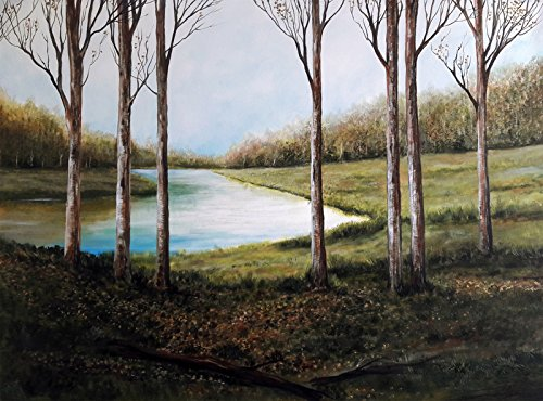 Winter (Acrylic Painting by Sebi Augustian) 51qpPIreiwL
