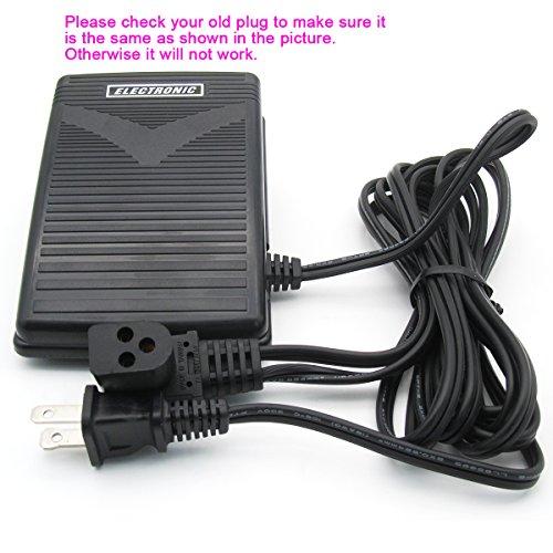 Kunpeng–# 979314–031Fußpedal Kontrolle von Fuß mit Kabel Passform für Singer Home Mähdrescher